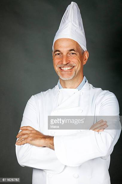 Happy chef portrait