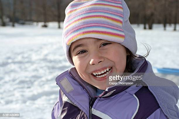 happy child during winter - cappi thompson stock pictures, royalty-free photos & images