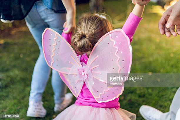 happy child - fairy stock photos and pictures