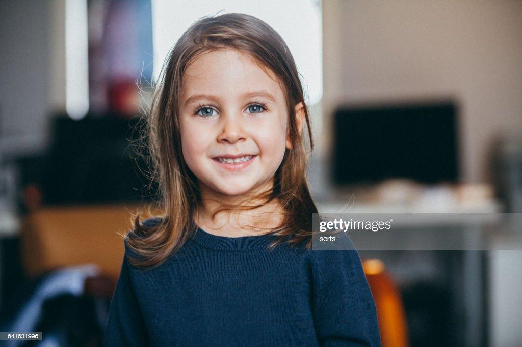 Happy Child Portrait : Stock Photo