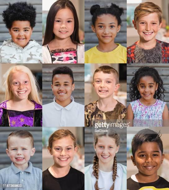 un'infanzia felice - composizione foto e immagini stock