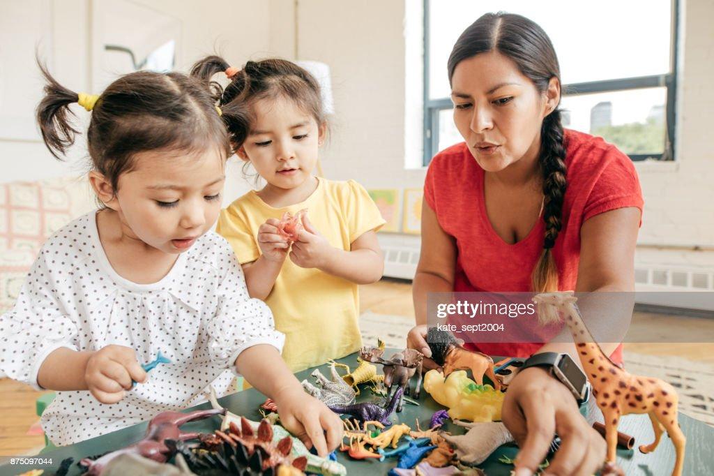Happy childhood : Stock Photo