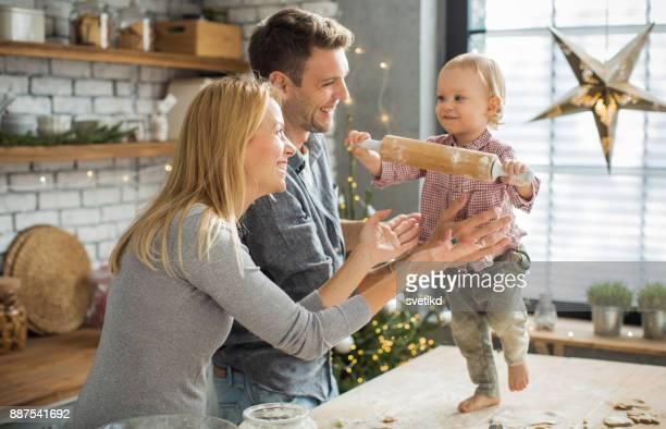 Gelukkig kerst dans