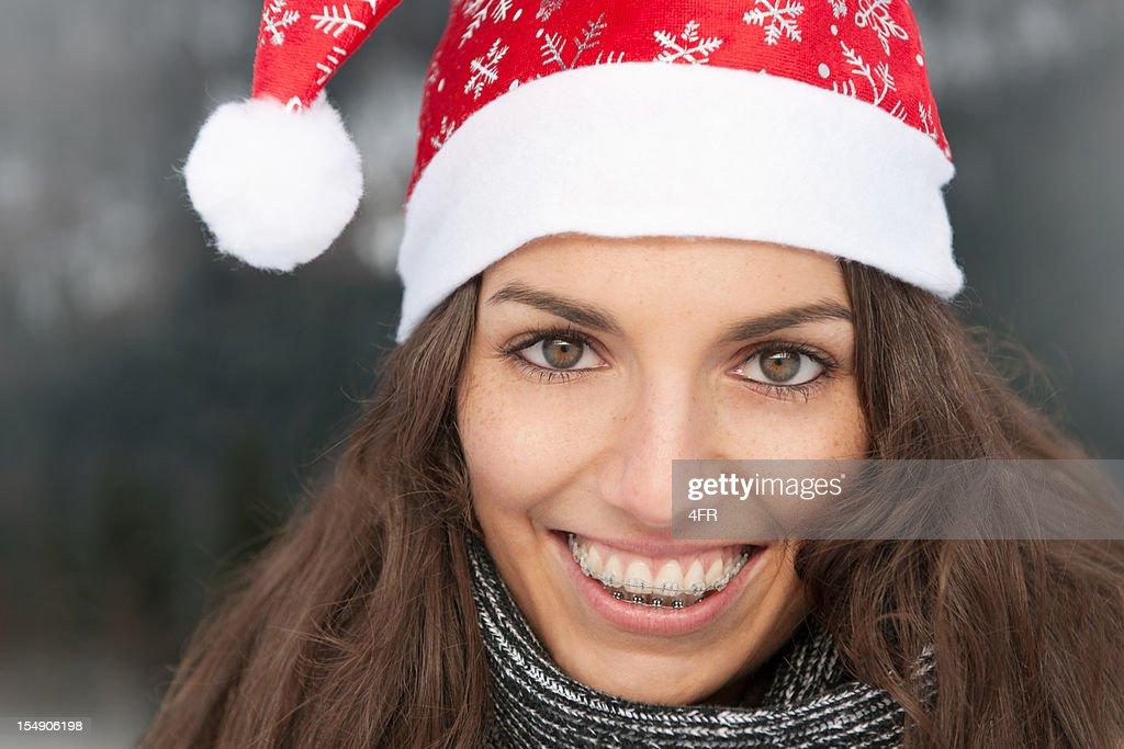 Happy Christmas Portrait (XXXL) : Stock Photo