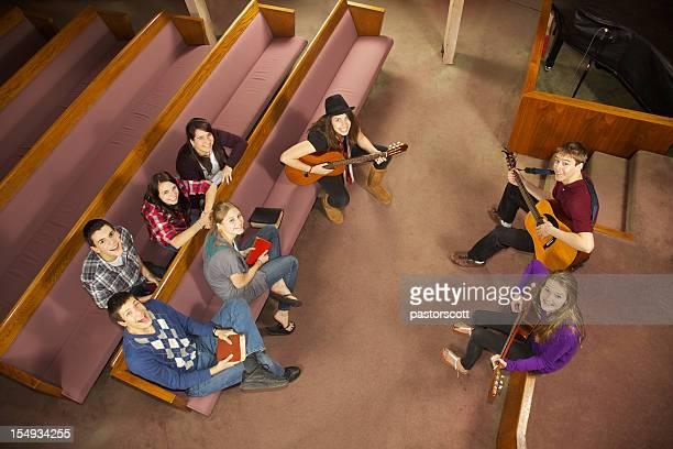 Glücklich Kirche Musical Jugend-Gruppe