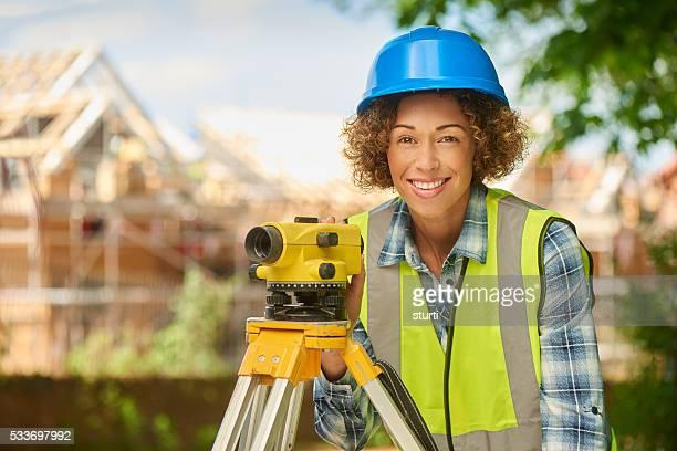 happy civil engineer
