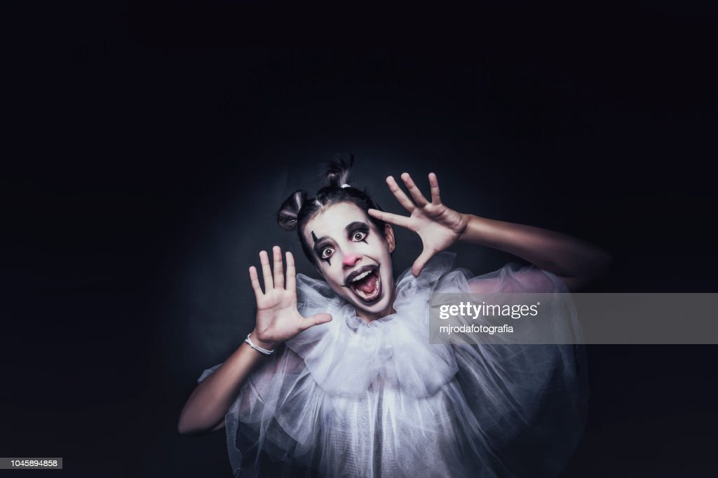 Happy clown : Stock Photo