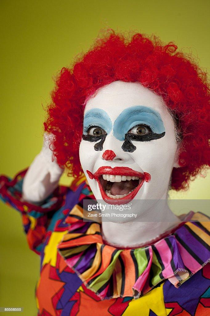 happy clown faces pictures - 634×932