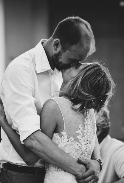 Happy Couple Kissing In Party