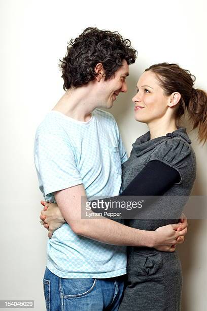 happy couple looking into each others eyes - category:cs1_maint:_others stock pictures, royalty-free photos & images