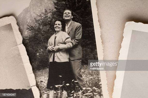 happy couple - 20th century stock pictures, royalty-free photos & images