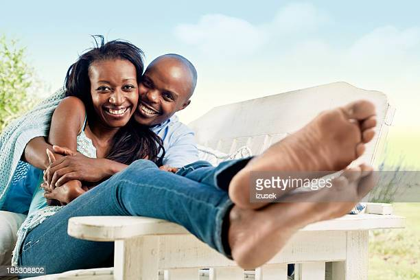 happy couple - womens beautiful feet stock photos and pictures