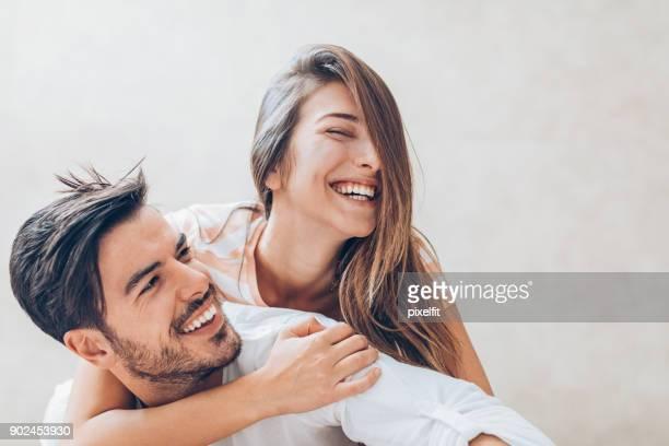 Glückliche Paar