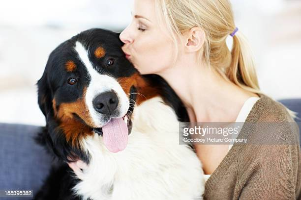 happy couple with a furry twist - couple tongue kissing stock photos and pictures
