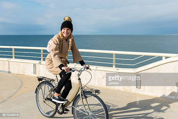 Happy day on bicycle !
