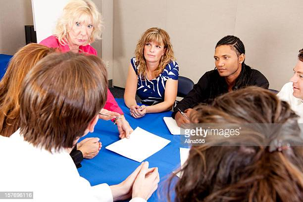 happy diverse business team at the meeting - alina stock pictures, royalty-free photos & images