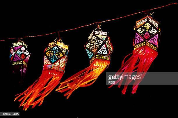 happy diwali, aakash kandil - diwali stock pictures, royalty-free photos & images