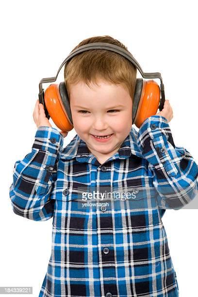Happy Ear Muffs Boy