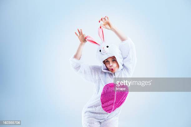 happy easter bunny - osterhase stock-fotos und bilder