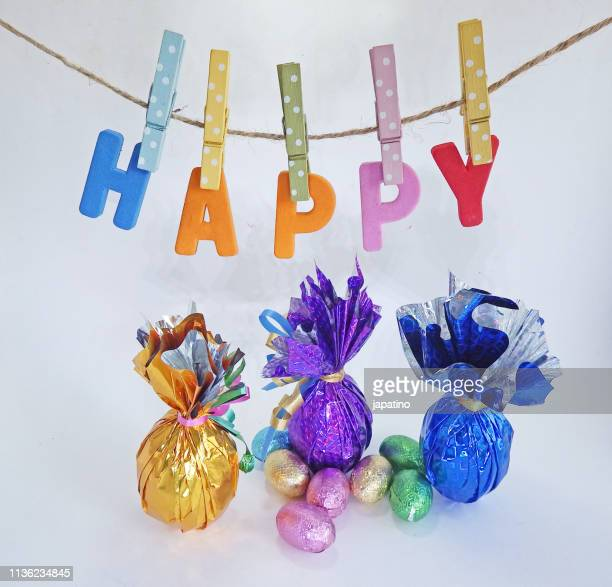happy easter - happy easter text stock pictures, royalty-free photos & images