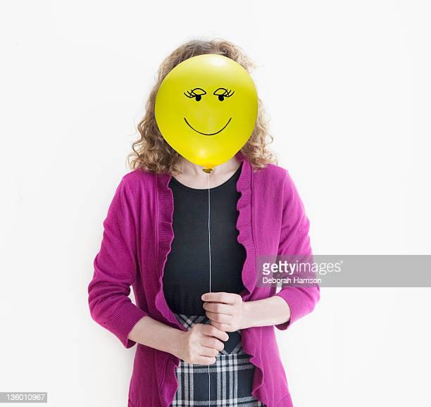 Happy faced girl