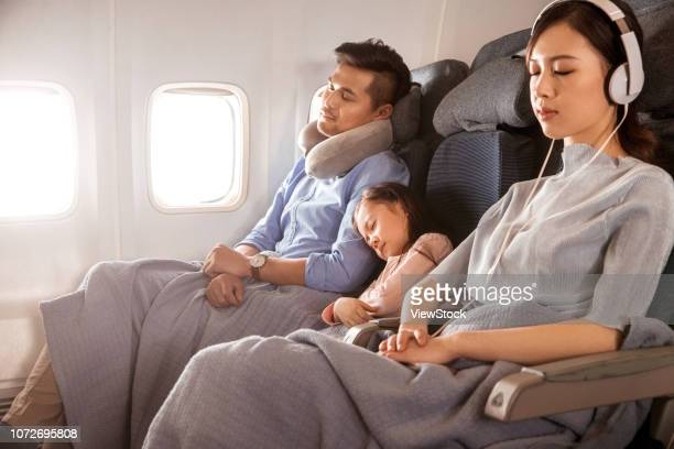 Happy families by plane