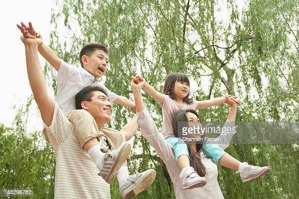 Happy Family at Ditan Park