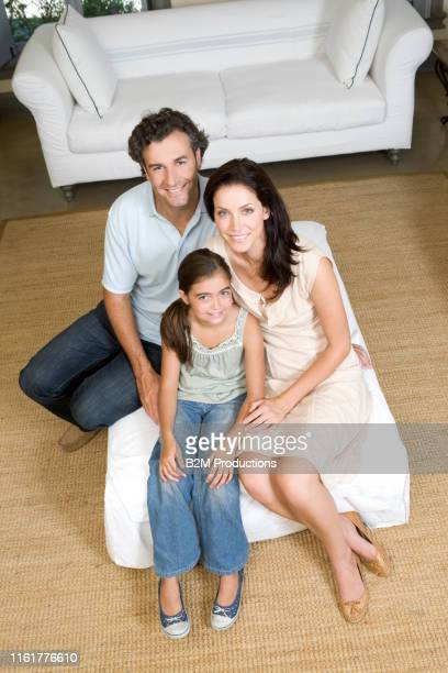 happy family at home - 2010 2019 stock pictures, royalty-free photos & images