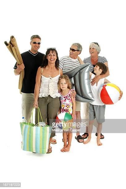 Vacances heureuses en famille