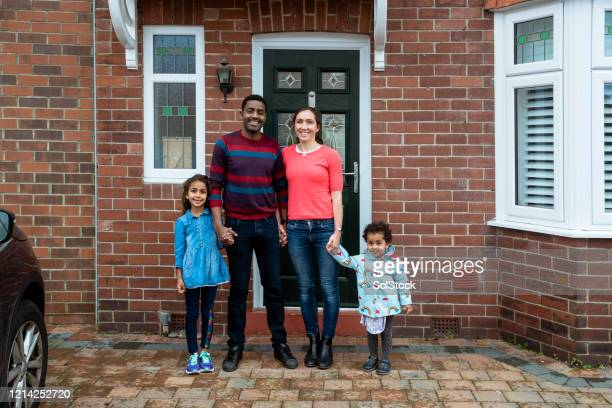 happy family - multi ethnic group stock pictures, royalty-free photos & images