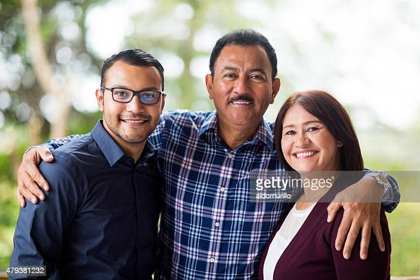 happy family - mexican ethnicity stock pictures, royalty-free photos & images