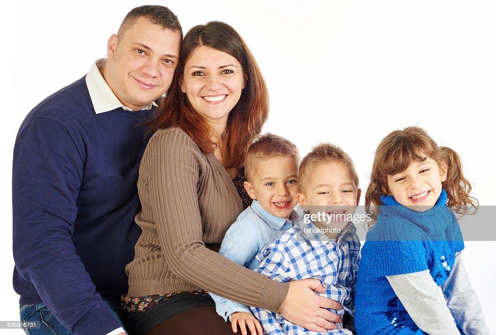 Happy Family : Stock Photo