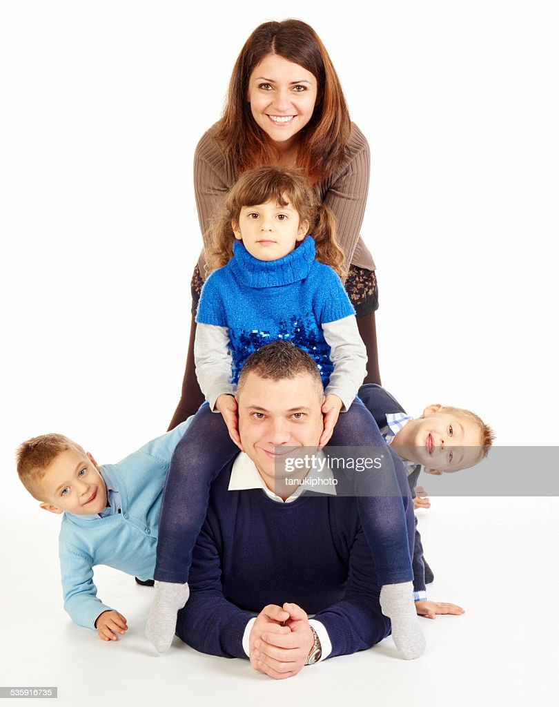 Família feliz : Foto de stock