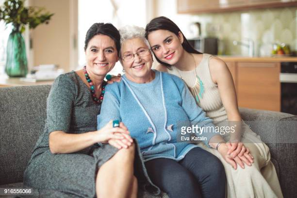 happy family - generational family stock photos and pictures