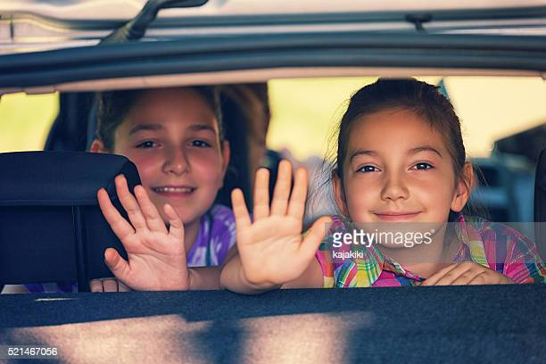 happy family travelling - waving stock pictures, royalty-free photos & images
