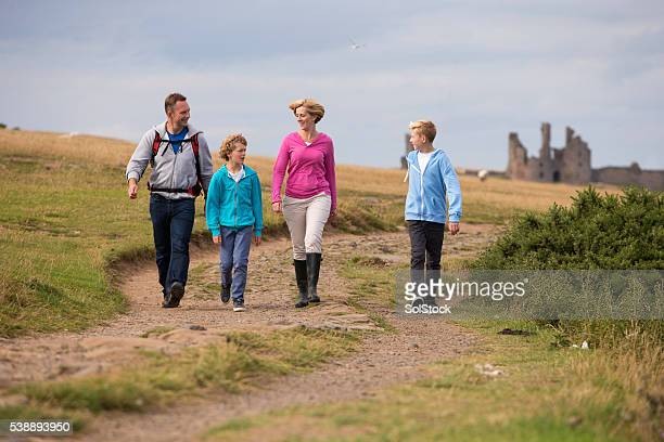 Happy Family Walk