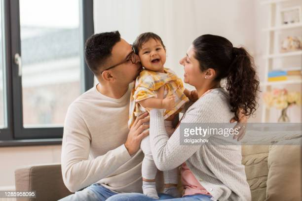 family parenthood people concept happy mother