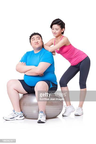 Scrawny guy dating chubby girl