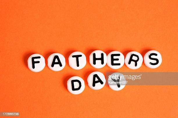 Happy Father's Day (orange background)