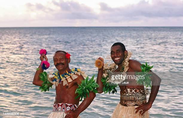 Happy Fijian warriors.