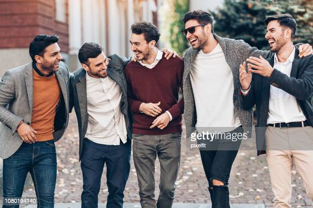 happy friends - smart casual stock pictures, royalty-free photos & images