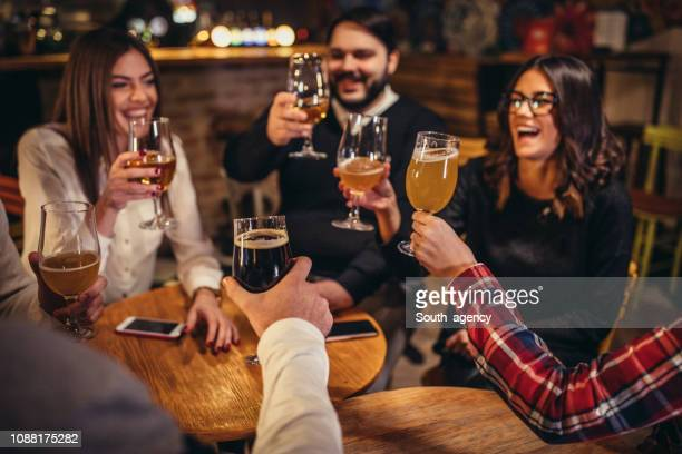 happy friends - happy hour stock pictures, royalty-free photos & images