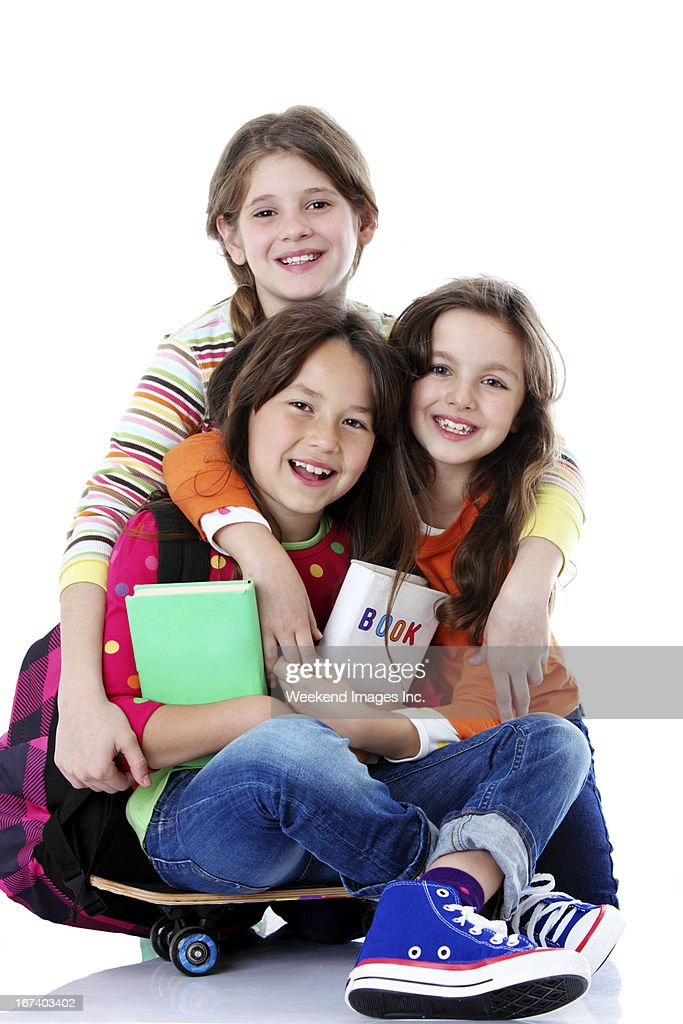 Happy friends : Stock Photo