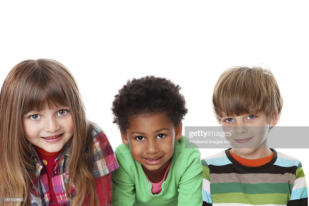 Happy friends : Stockfoto