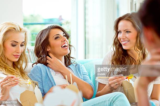 happy friends - izusek stock photos and pictures
