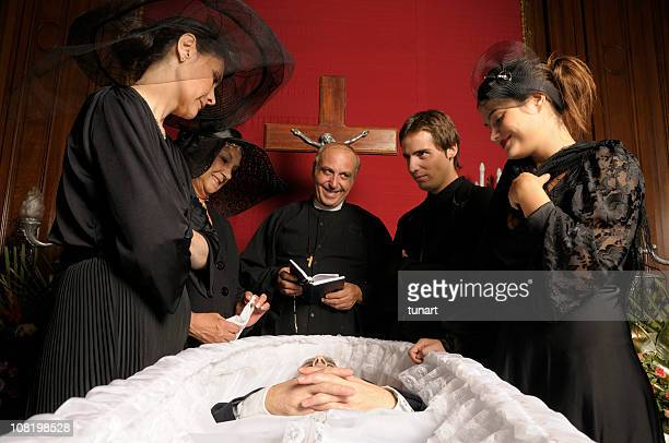 happy funeral - dead man stock pictures, royalty-free photos & images
