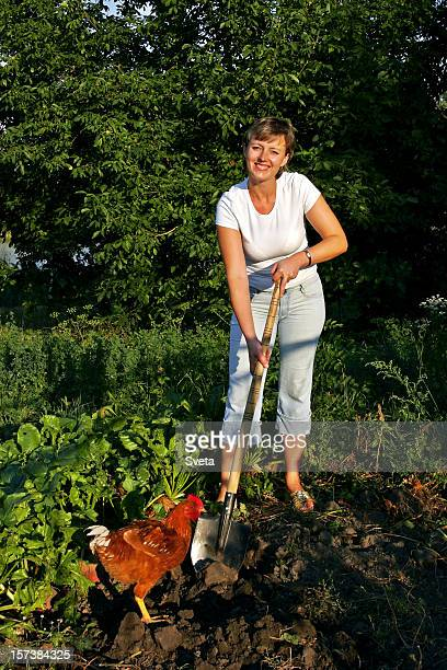 happy gardening - loam stock photos and pictures