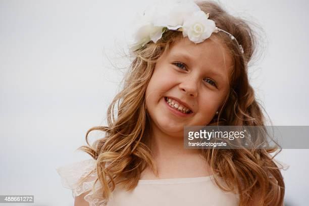 Happy Girl Smiling
