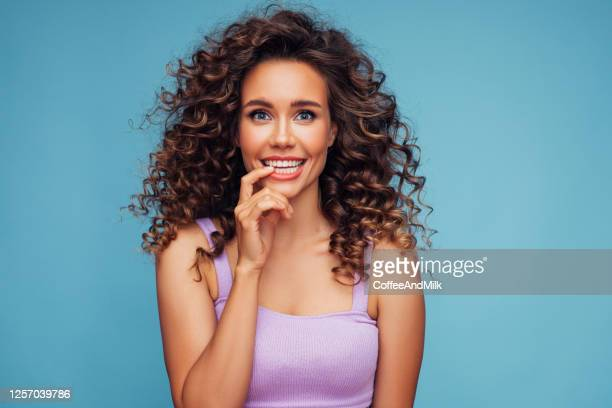happy girl waiting for a miracle - guilt stock pictures, royalty-free photos & images