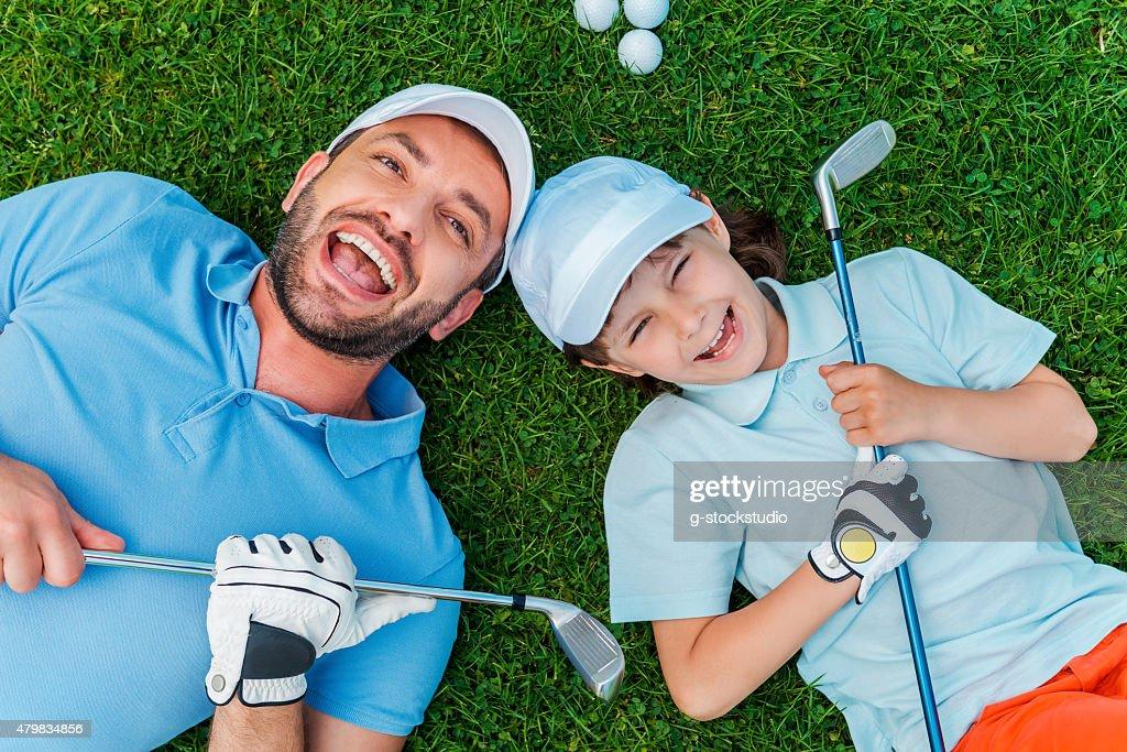 「一緒にゴルフをする」それだけで最高の親孝行です!